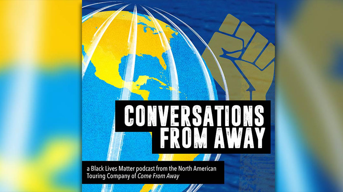 "News Item: ""Conversations from Away"", a new social justice podcast, premieres its first three episodes"