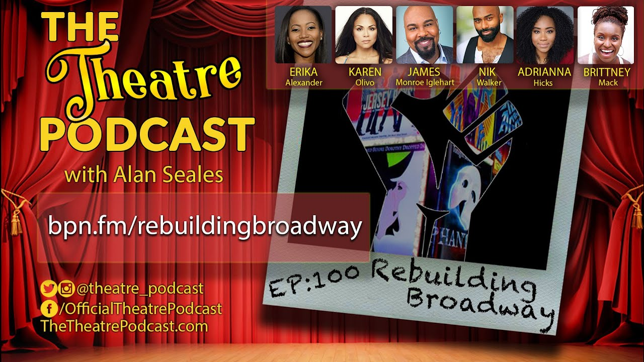 Playbill.com: Karen Olivo, James Monroe Iglehart, Adrianna Hicks, and More Unite for Live Town Hall on 'Rebuilding Broadway'