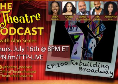 Playbill.com: Karen Olivo, James Monroe Iglehart, Adrianna Hicks, and More Unite for Live Town Hall on 'Rebuilding Broadway'